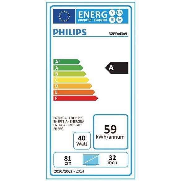 Philips 32PFH4309/88 Full HD LED LCD televízió - Bemutató darab