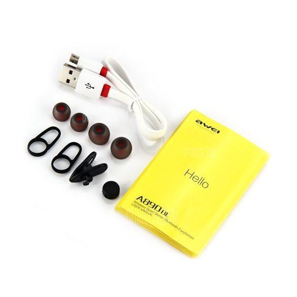AWEI A890BL In-Ear Bluetooth fülhallgató headset (több színben)