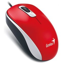 Genius DX110 optikai egér - piros