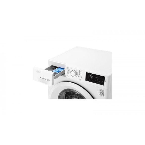 LG F2J5TN3W elöltöltős mosógép